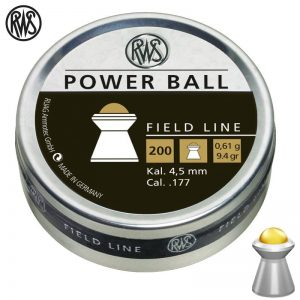 Diabolky RWS Power Ball 4,5mm 200ks
