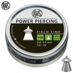 Diabolky RWS Power Piercing 5,5mm 100ks